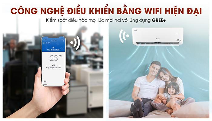công nghệ wifi control điều khiển bằng điện thoại