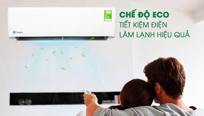 Chế độ eco tiết kiệm điện năng