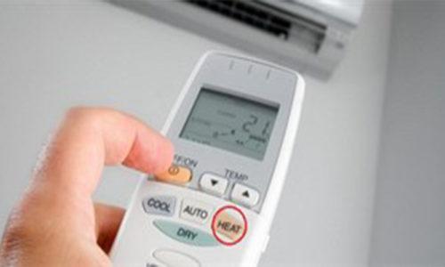 Hướng dẫn bật chế độ sưởi ấm cho máy điều hòa 2 chiều