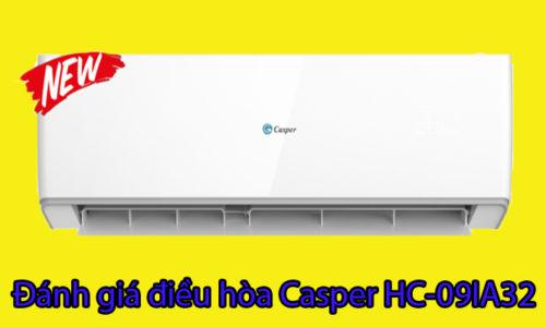 Đánh giá máy điều hòa Casper 9000BTU HC-09IA32