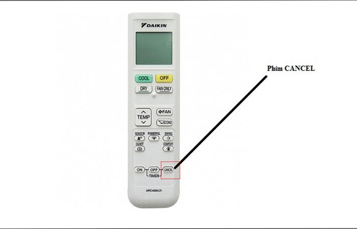 Cách test lỗi máy điều hòa daikin