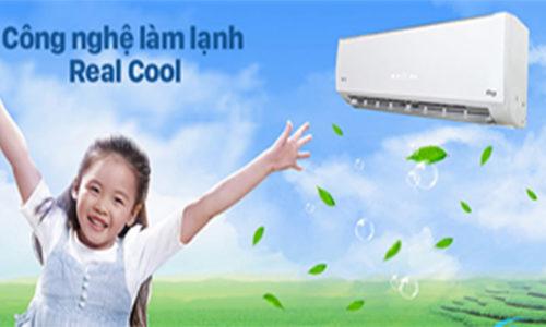 Tìm hiểu về công nghệ làm lạnh real cool trên máy điều hòa gree