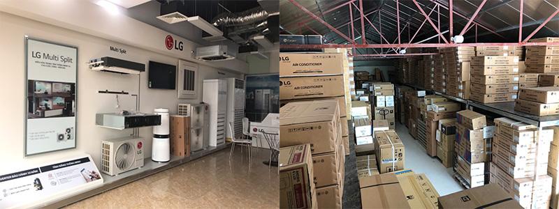 Tổng kho điều hòa LG chính hãng tại Hà Nội