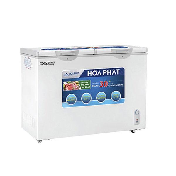 Tủ đông Hòa Phát 2 ngăn 205l dàn Nhôm HCF 506S2N2