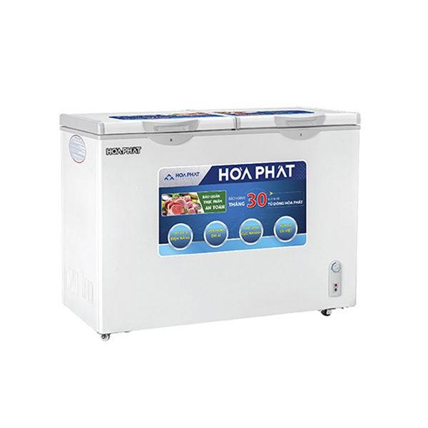 Tủ đông Hòa Phát 2 ngăn 240l dàn Nhôm HCF 606S2N2