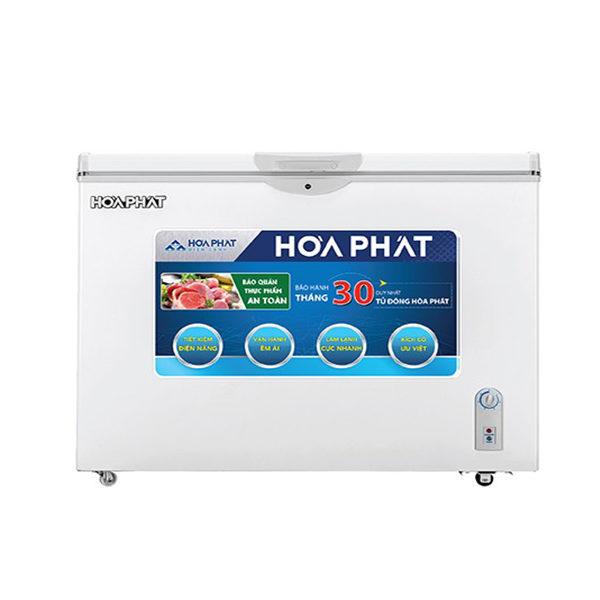 Tủ đông Hòa Phát 252l 1 ngăn dàn Nhôm HCF 516S1N1