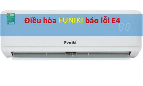 Điều hòa Funiki báo lỗi E4 và cách khắc phục tại nhà