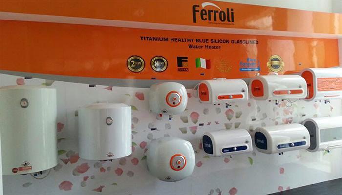 Bình nóng lạnh Ferroli chính hãng