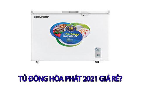 Những mẫu tủ đông Hòa Phát mode 2021 chính hãng giá rẻ