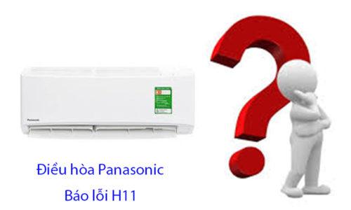 Tại sao điều hòa Panasonic báo lỗi H11