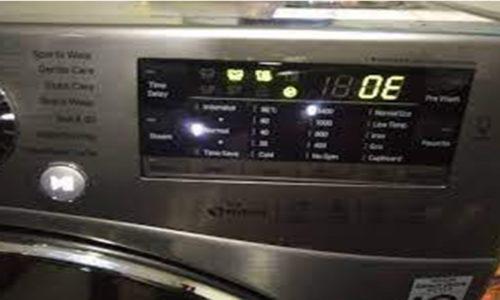 Tại sao máy giặt LG báo lỗi OE