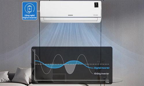 cách chế độ tiết kiệm điện trên máy điều hòa samsung