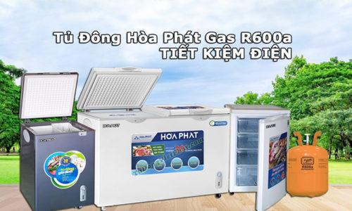 Tủ đông Hòa Phát R600a giá rẻ hấp dẫn